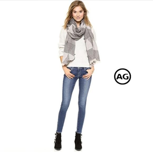 Ag Adriano Goldschmied Denim - AG Zip Up Legging Ankle Skinny Jean